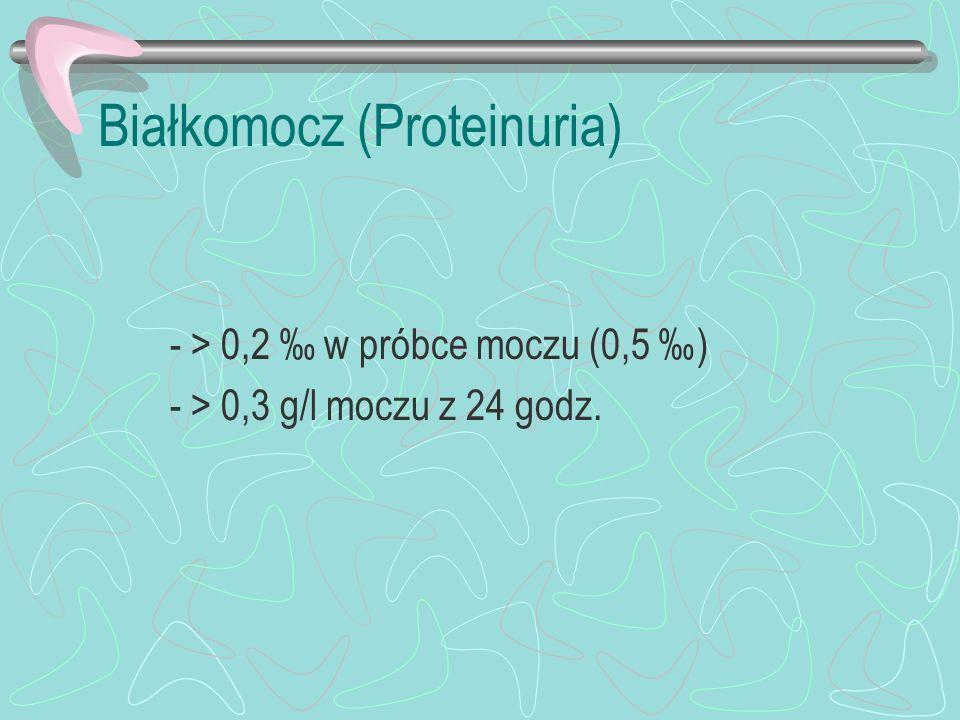 Białkomocz (Proteinuria)