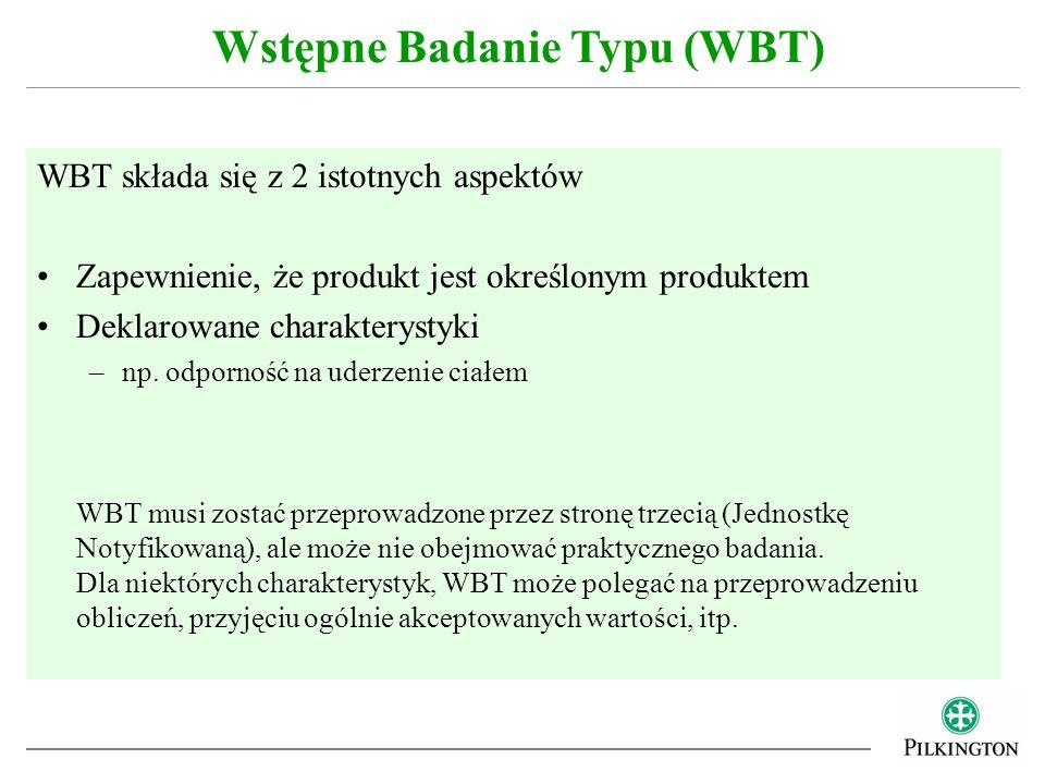 Wstępne Badanie Typu (WBT)