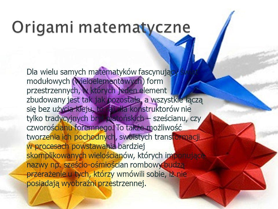 Origami matematyczne