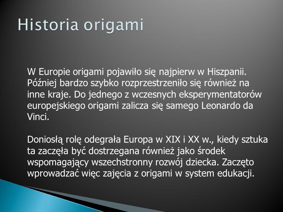 Historia origami