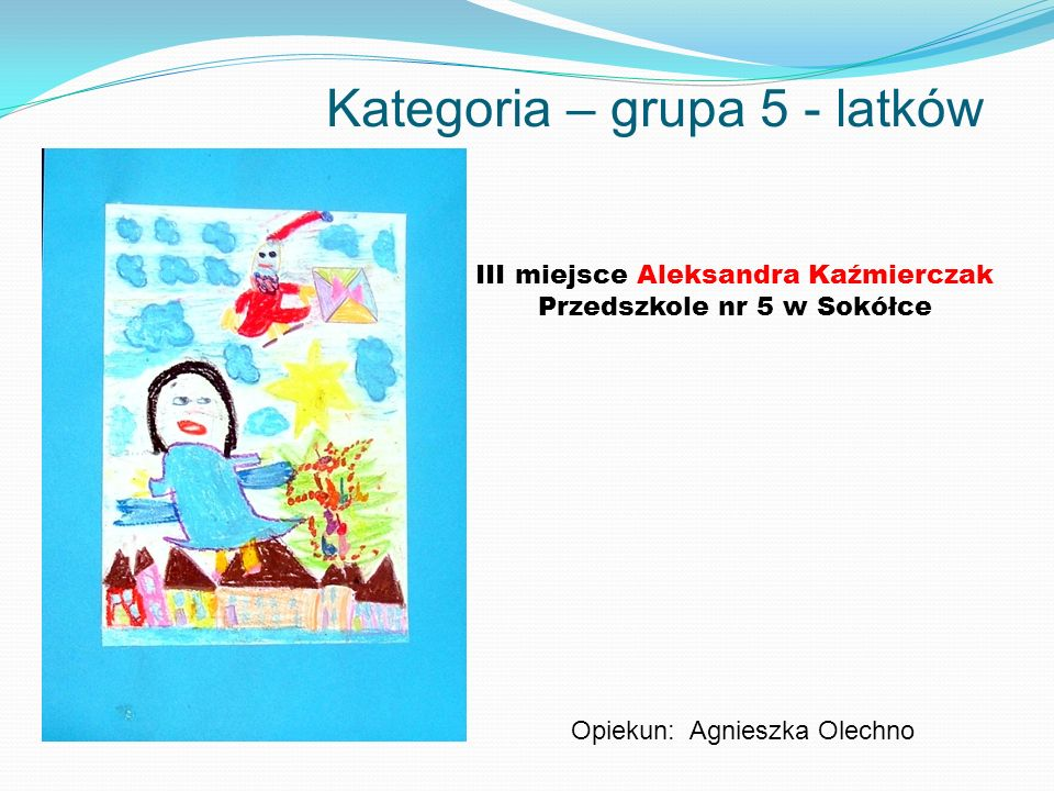 Kategoria – grupa 5 - latków