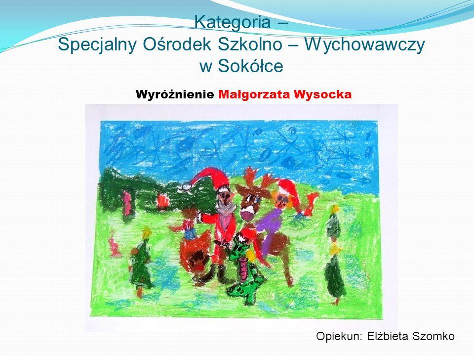 Kategoria – Specjalny Ośrodek Szkolno – Wychowawczy w Sokółce