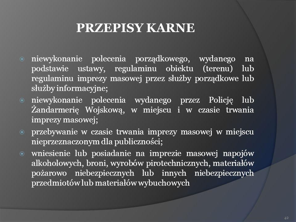 PRZEPISY KARNE