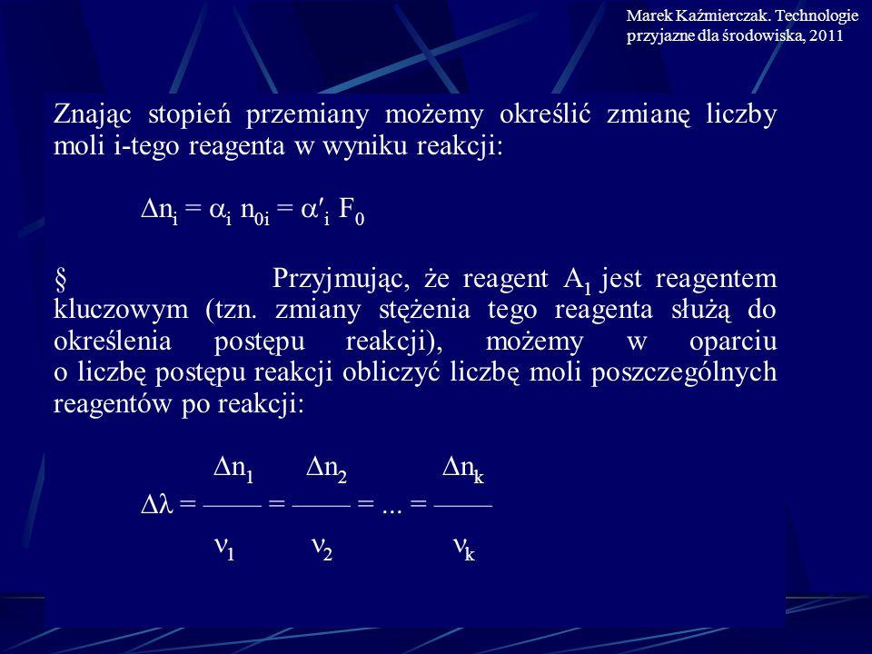 Marek Kaźmierczak. Technologie