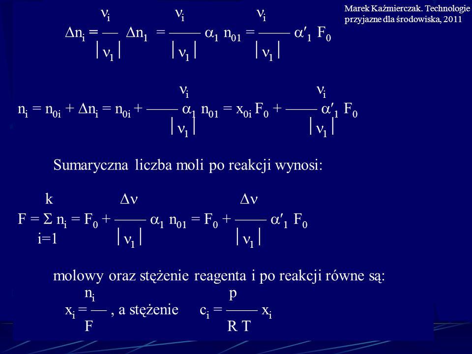 ni = n0i + ni = n0i + —— 1 n01 = x0i F0 + —— 1 F0 1 1