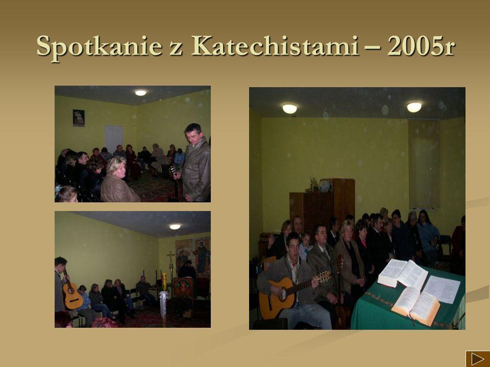 Spotkanie z Katechistami – 2005r