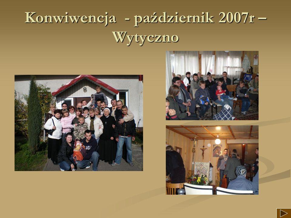Konwiwencja - październik 2007r –Wytyczno