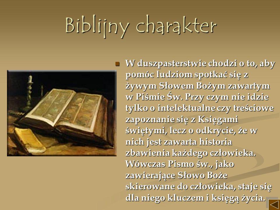 Biblijny charakter