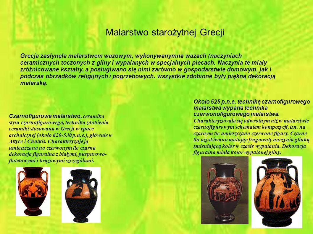 Malarstwo starożytnej Grecji