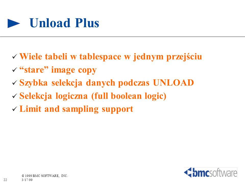 Unload Plus Wiele tabeli w tablespace w jednym przejściu