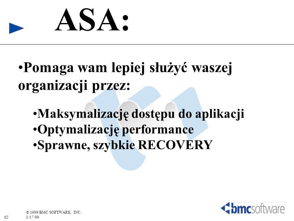 ASA: Pomaga wam lepiej służyć waszej organizacji przez: