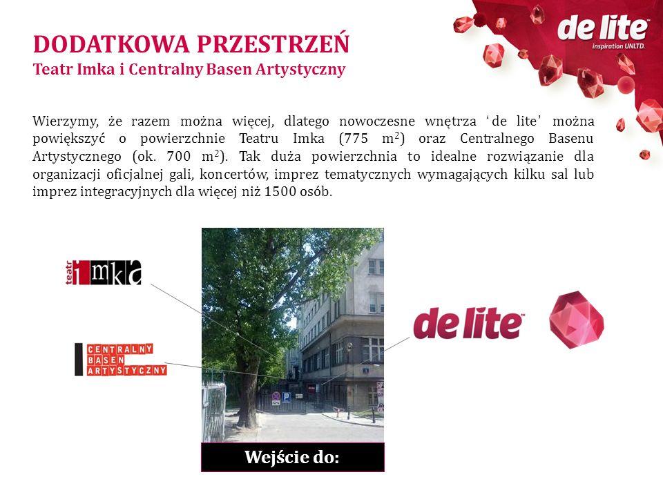 DODATKOWA PRZESTRZEŃ Wejście do: