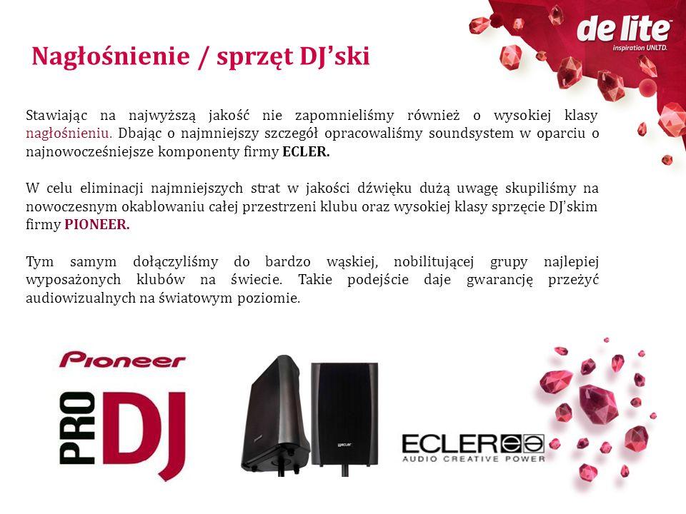 Nagłośnienie / sprzęt DJ'ski