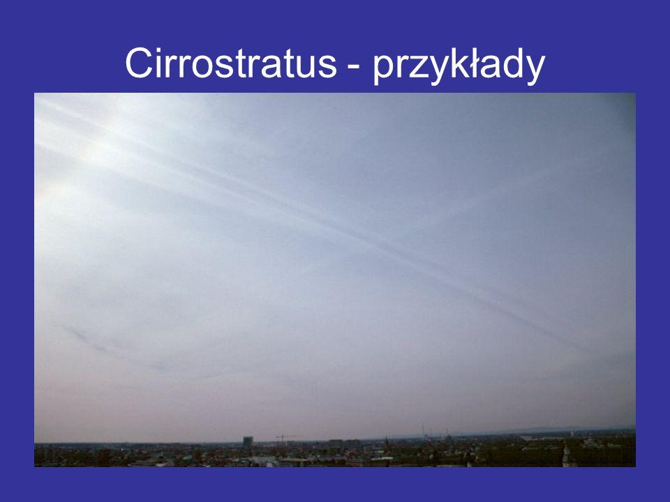 Cirrostratus - przykłady