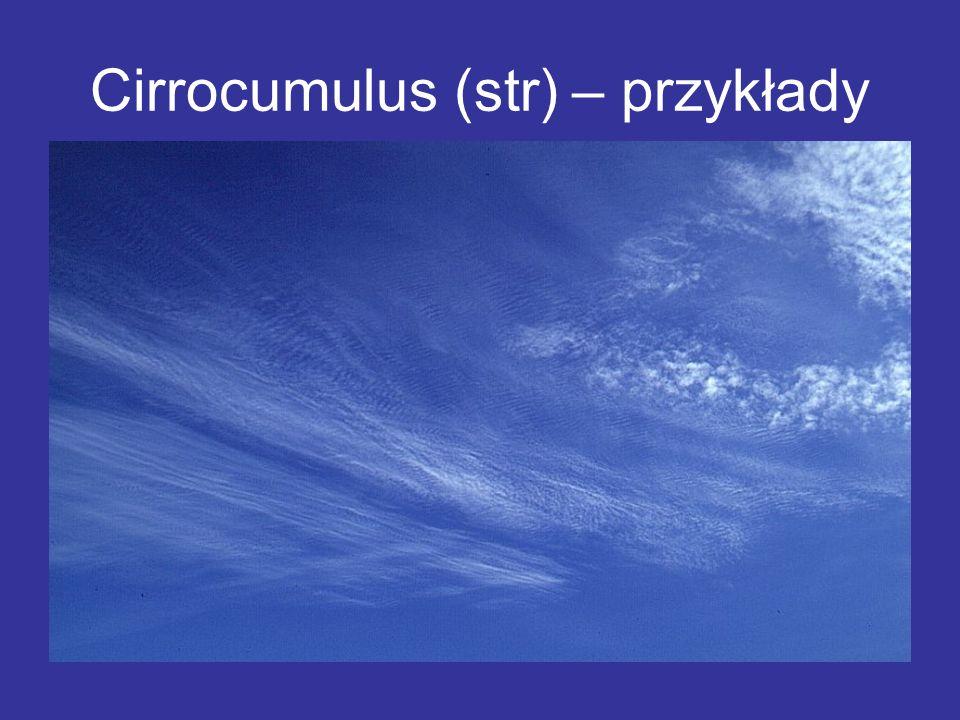 Cirrocumulus (str) – przykłady