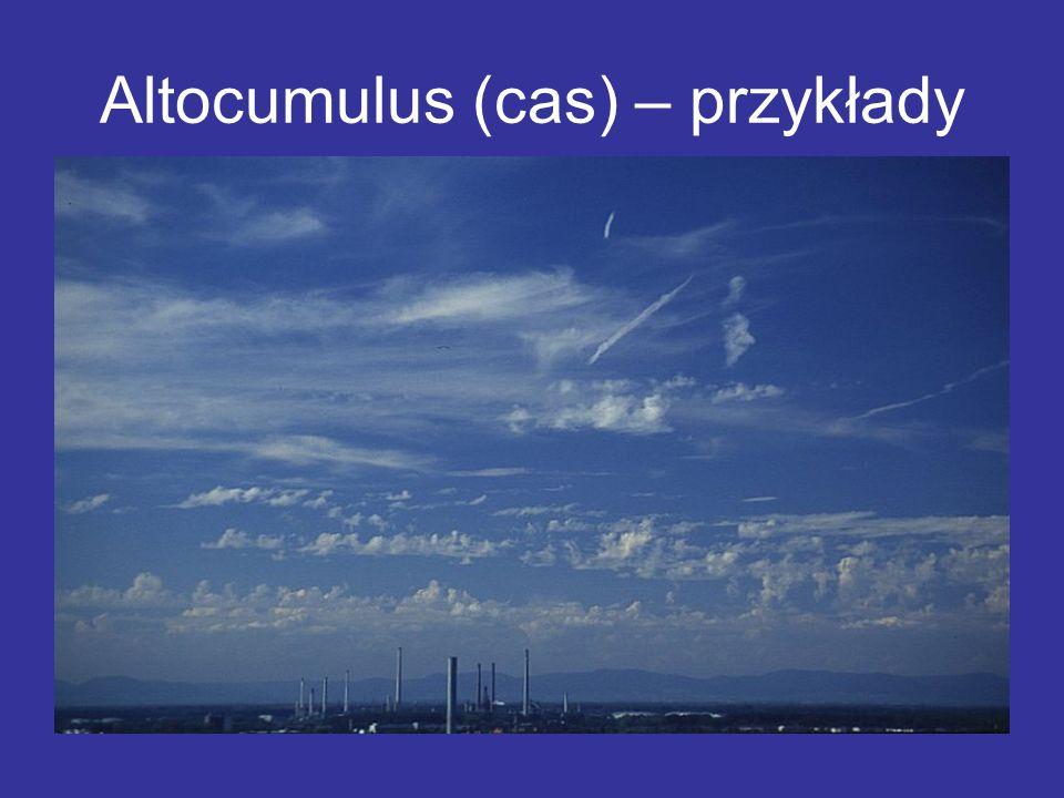 Altocumulus (cas) – przykłady