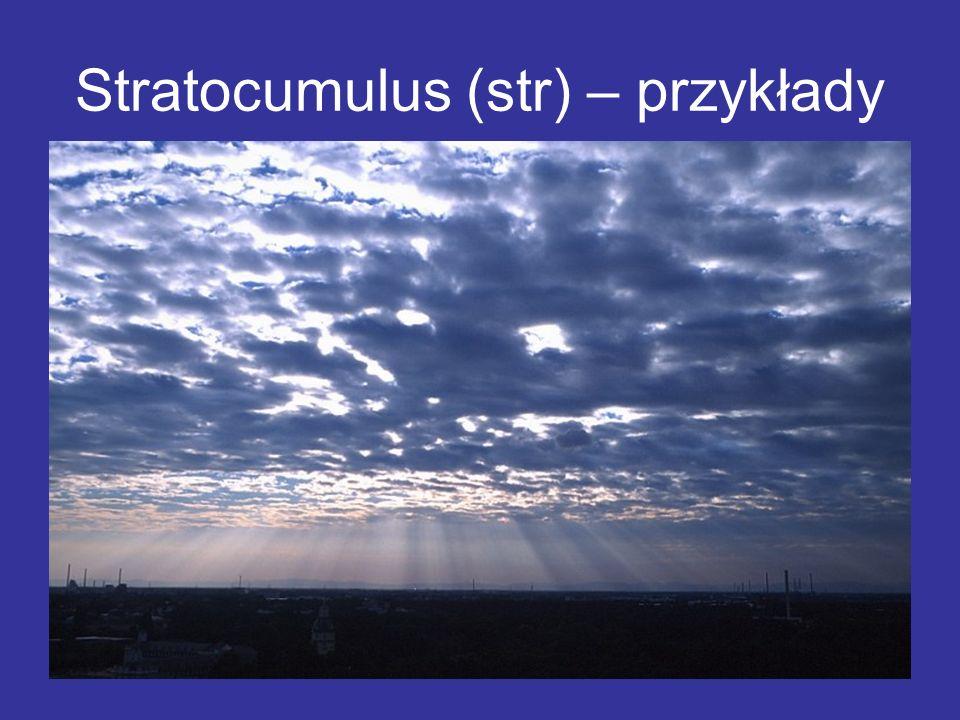 Stratocumulus (str) – przykłady