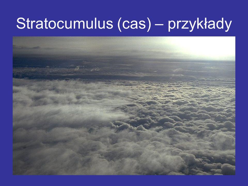 Stratocumulus (cas) – przykłady