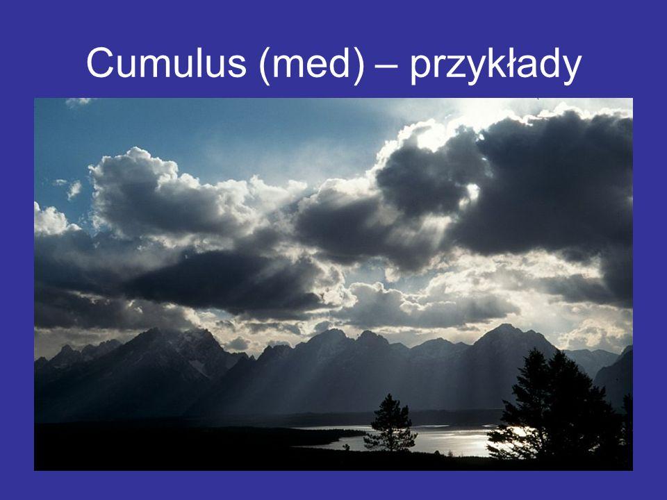 Cumulus (med) – przykłady