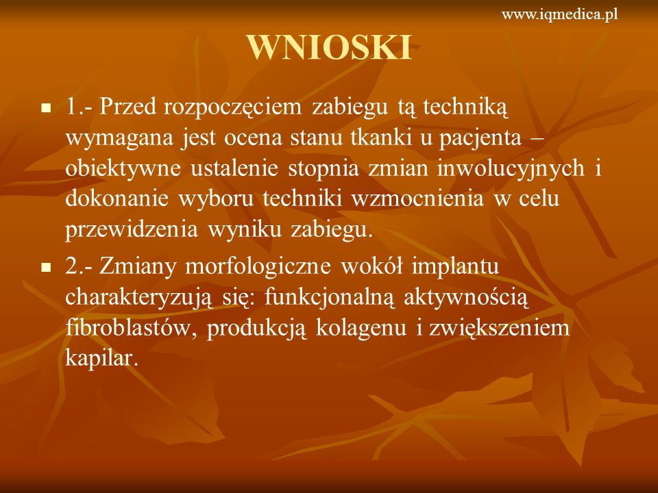 www.iqmedica.plWNIOSKI.
