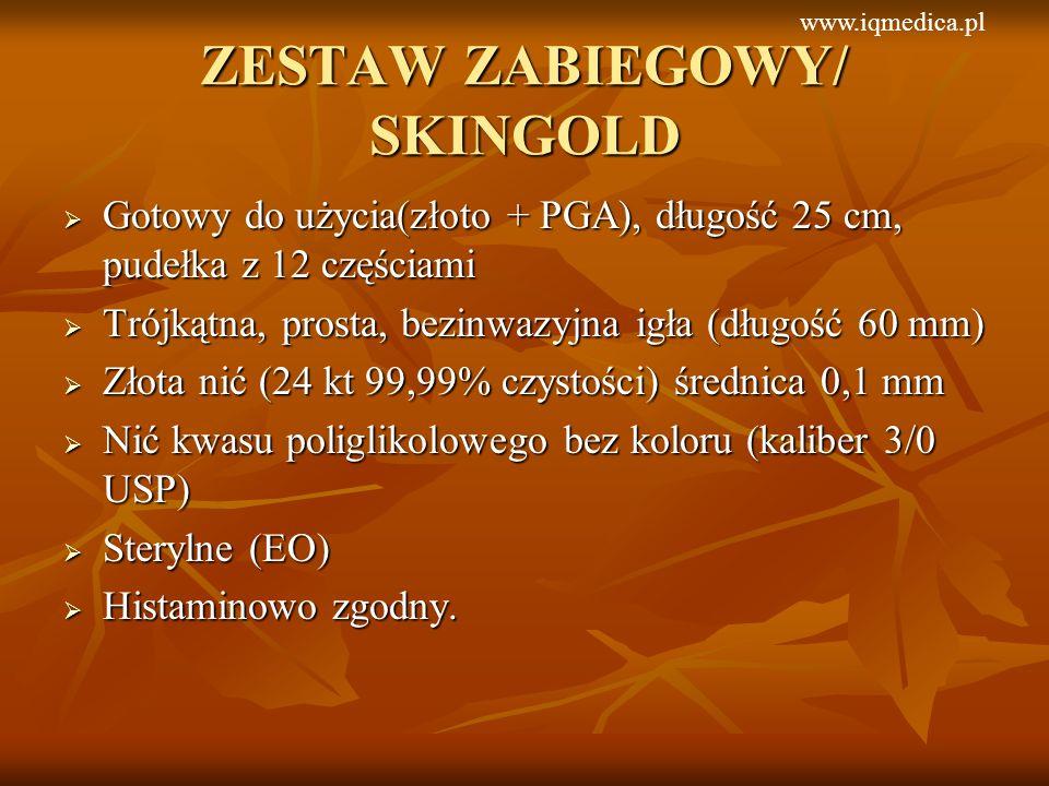 ZESTAW ZABIEGOWY/ SKINGOLD