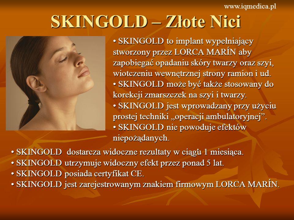 www.iqmedica.pl SKINGOLD – Złote Nici.