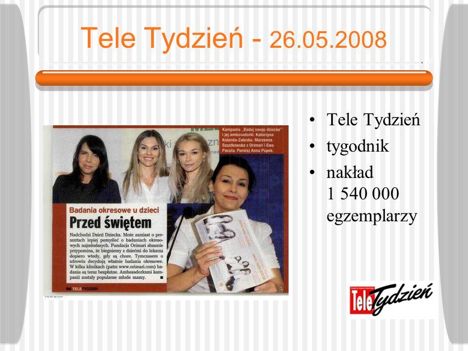 Tele Tydzień - 26.05.2008 Tele Tydzień tygodnik