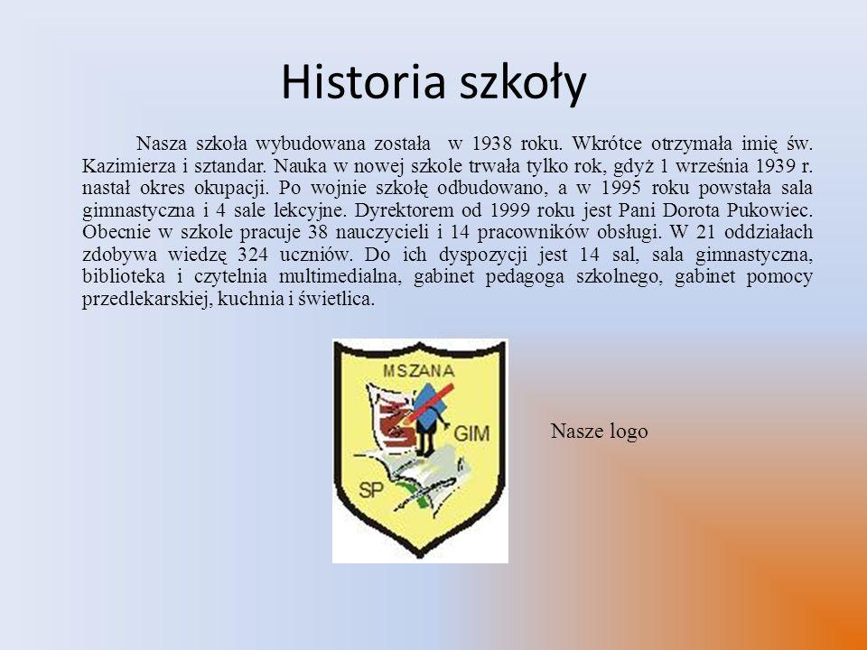 Historia szkoły Nasze logo