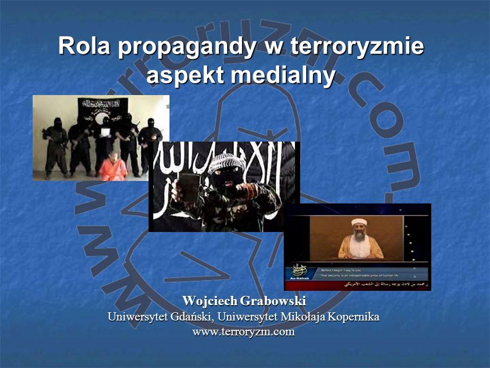 Rola propagandy w terroryzmie aspekt medialny