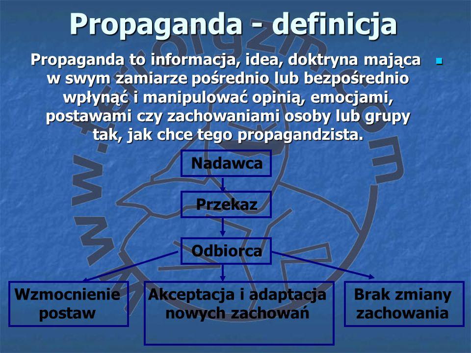 Propaganda - definicja