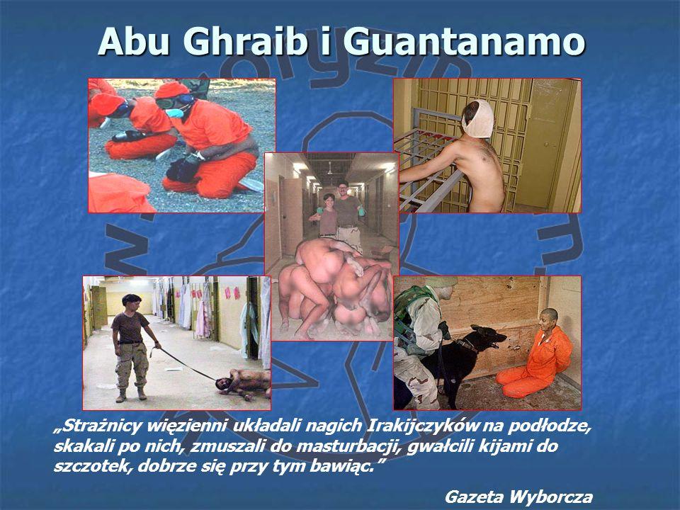 Abu Ghraib i Guantanamo