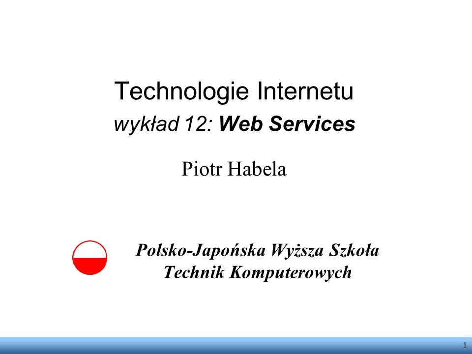 Polsko-Japońska Wyższa Szkoła Technik Komputerowych