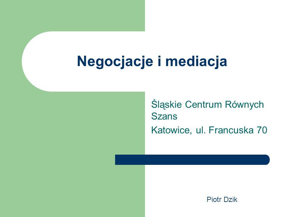 Śląskie Centrum Równych Szans Katowice, ul. Francuska 70