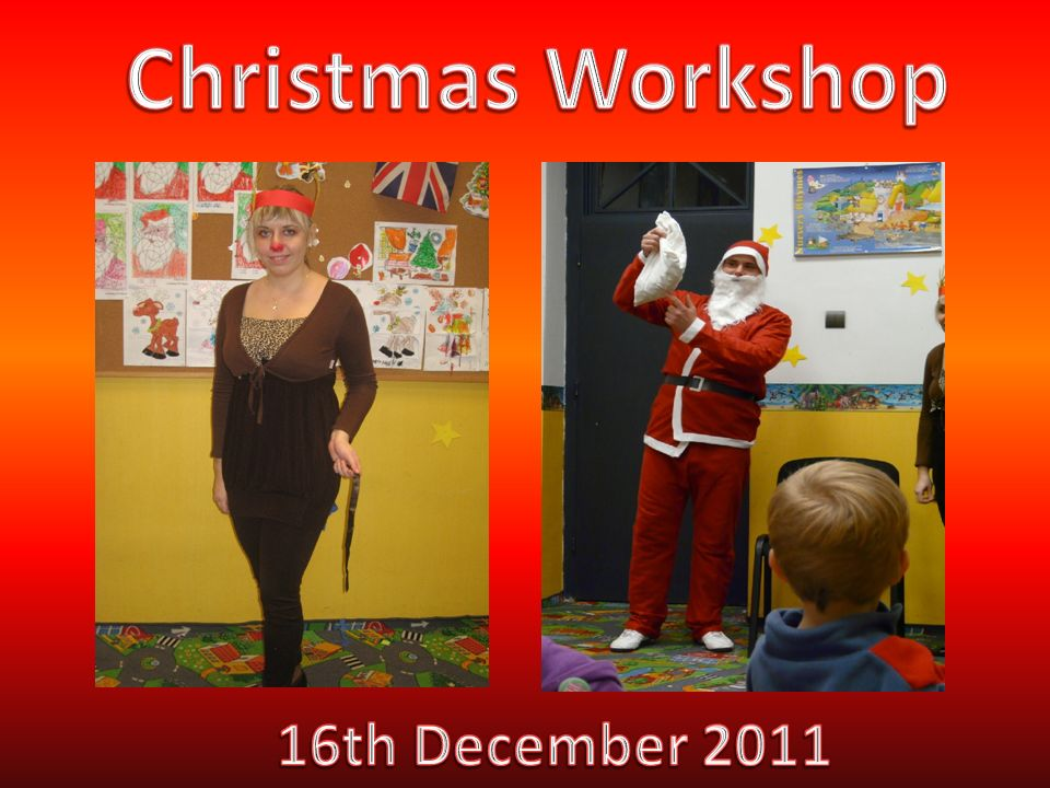 Christmas Workshop 16th December 2011