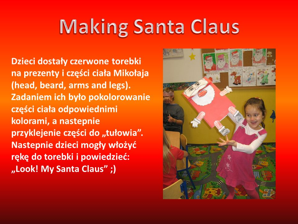 Making Santa Claus