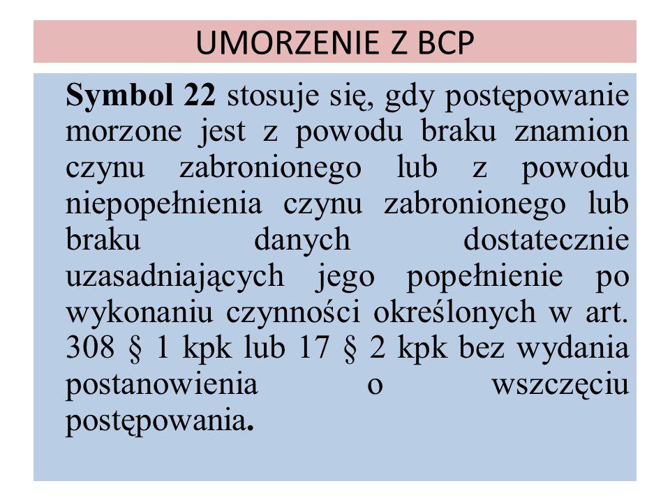 UMORZENIE Z BCP