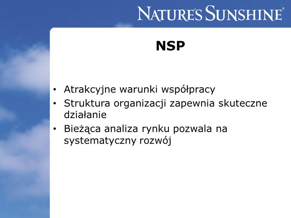NSP Atrakcyjne warunki współpracy