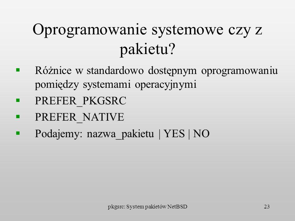 Oprogramowanie systemowe czy z pakietu