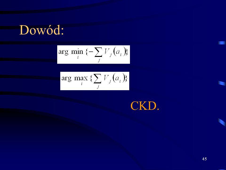 Dowód: CKD.