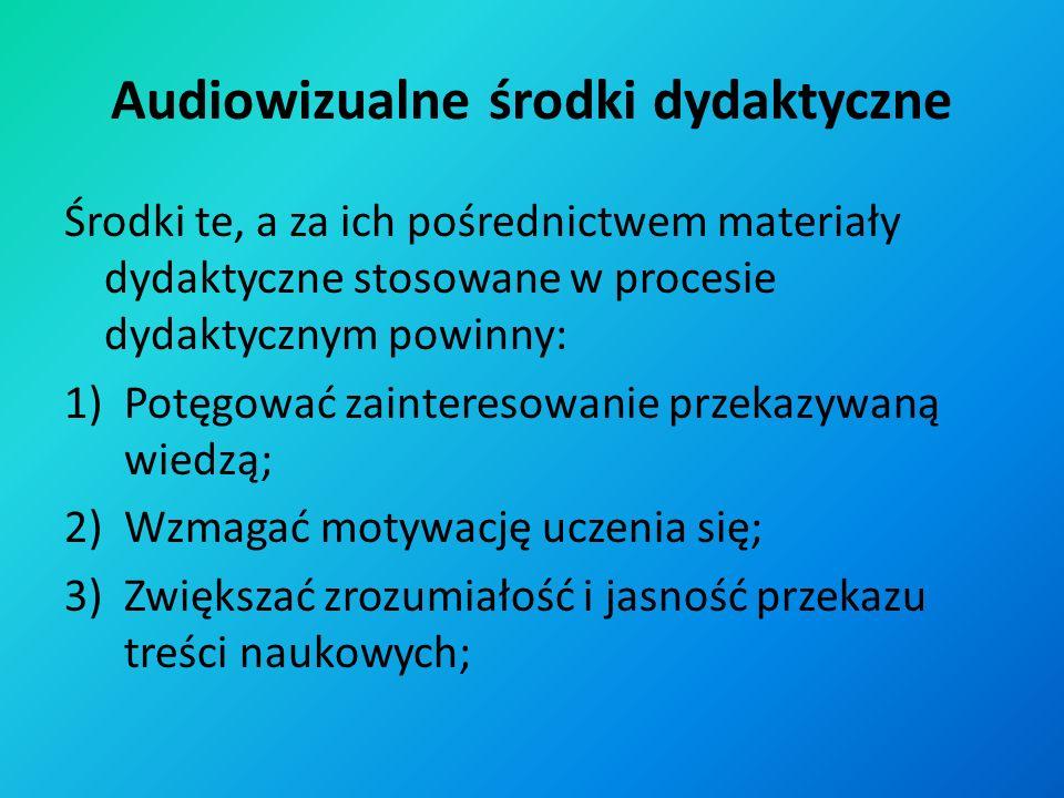 Audiowizualne środki dydaktyczne