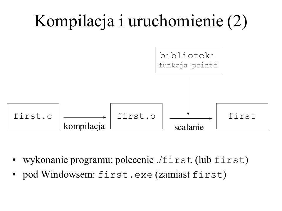 Kompilacja i uruchomienie (2)