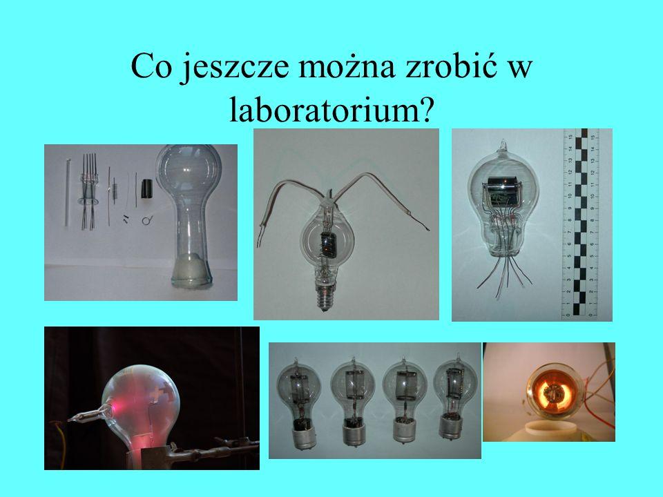 Co jeszcze można zrobić w laboratorium