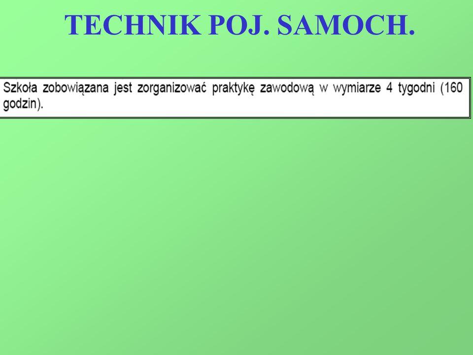 TECHNIK POJ. SAMOCH.