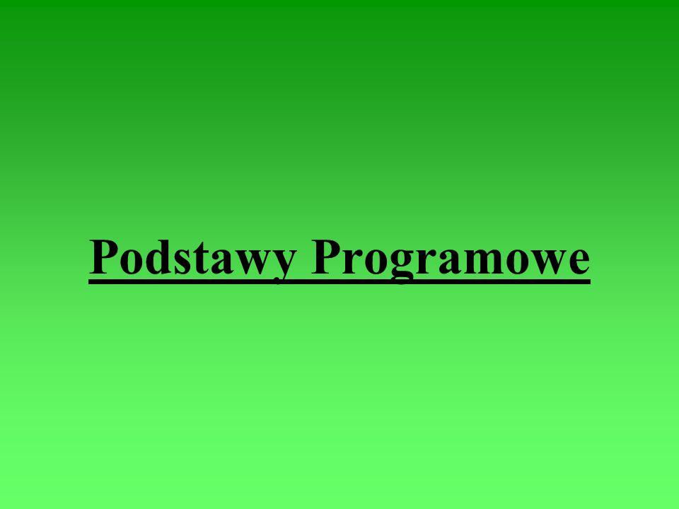 Podstawy Programowe
