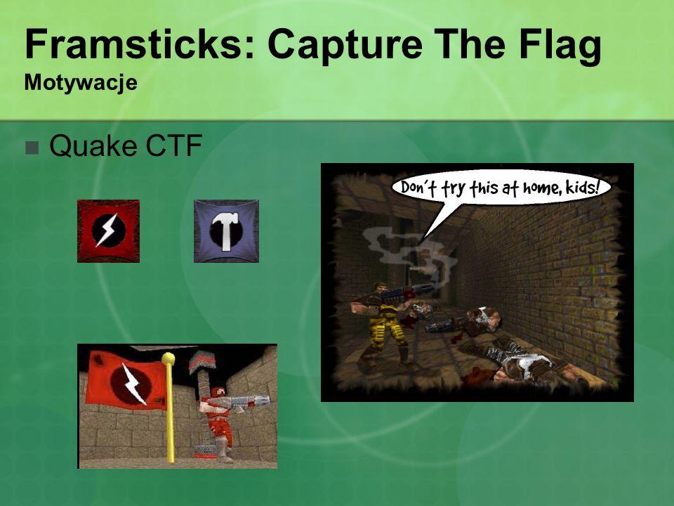 Framsticks: Capture The Flag Motywacje