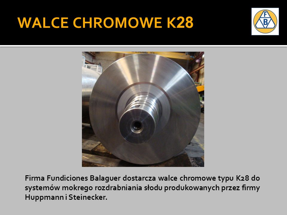 WALCE CHROMOWE K28