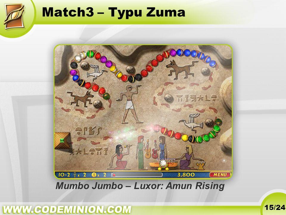 Match3 – Typu Zuma Mumbo Jumbo – Luxor: Amun Rising 15/24