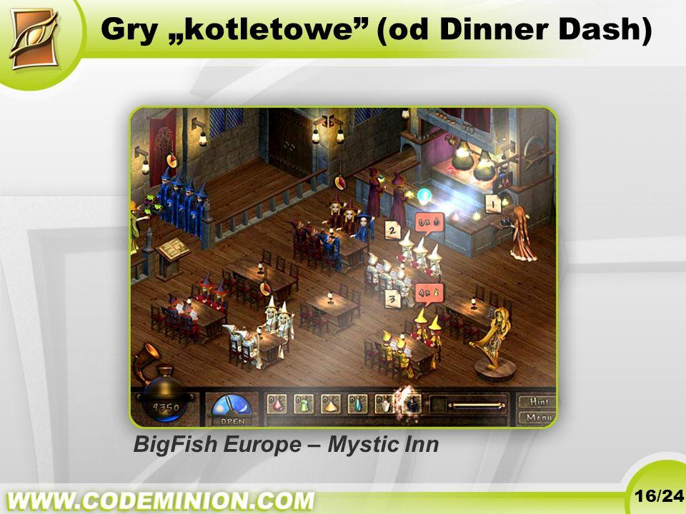 "Gry ""kotletowe (od Dinner Dash)"