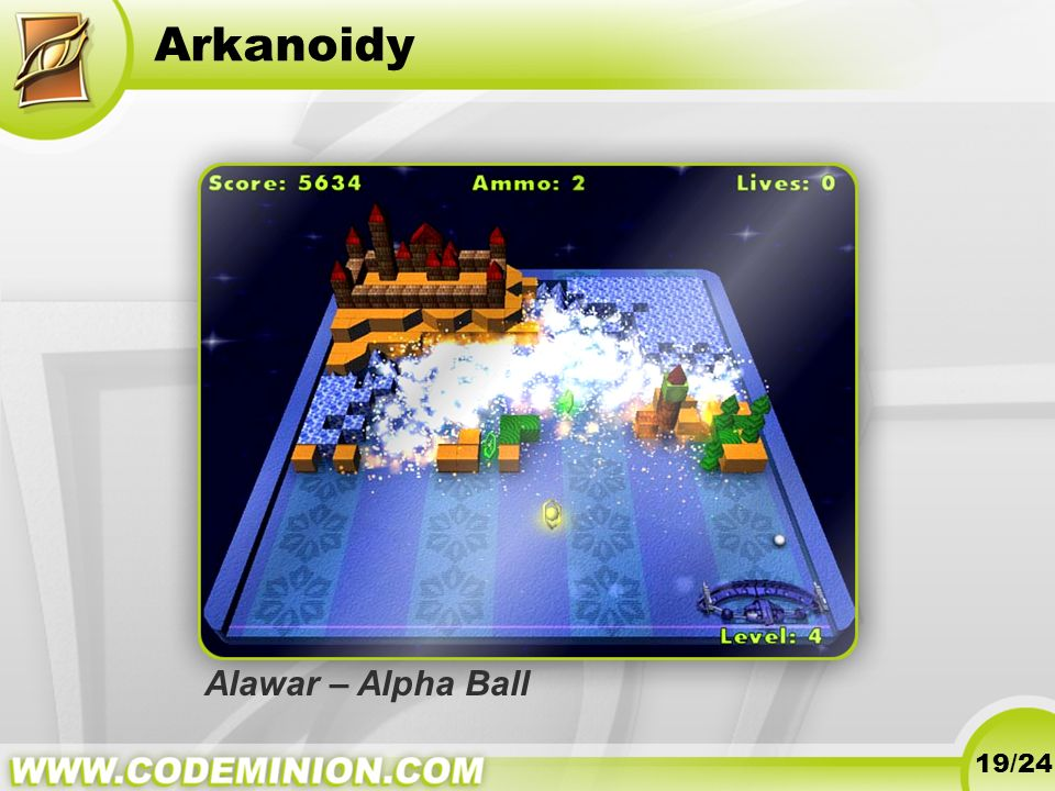 Arkanoidy Alawar – Alpha Ball 19/24