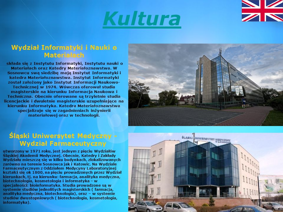 Kultura Wydział Informatyki i Nauki o Materiałach
